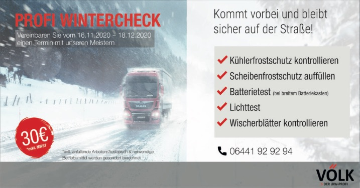 Völks Wintercheck
